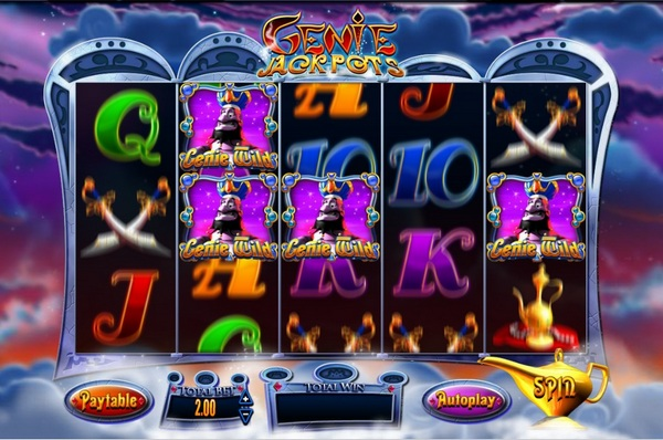 Genies Touch™ Slot Machine Game to Play Free in QuickSpins Online Casinos