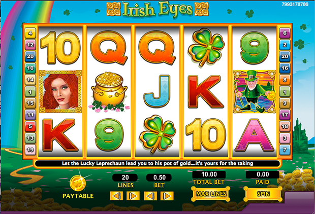 Irish Eyes™ Slot Machine Game to Play Free in NextGen Gamings Online Casinos
