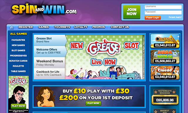 Grease Slots - Play the Blockbuster Hit Grease Slots Machine