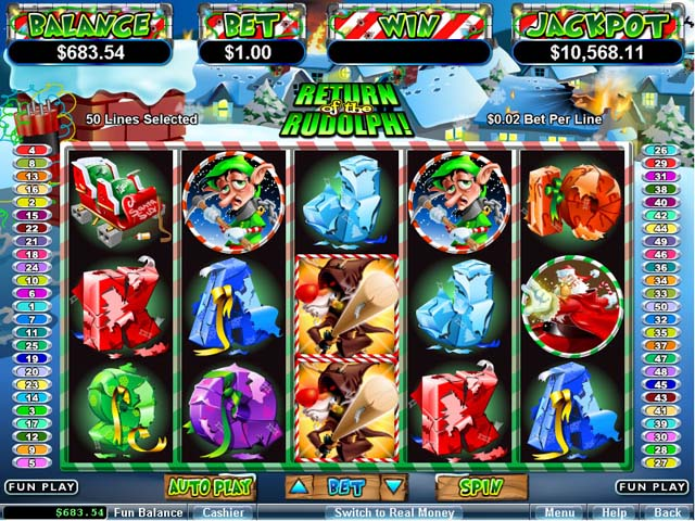 Free Christmas Slots No deposit required
