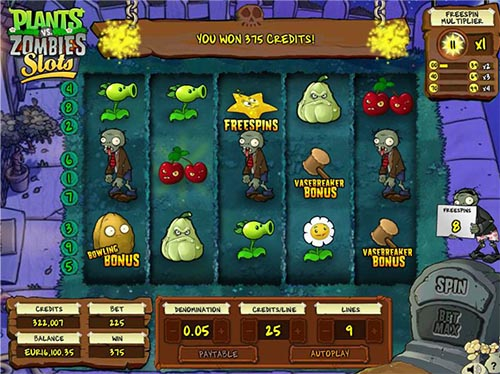 plants vs zombies slot machine cheats
