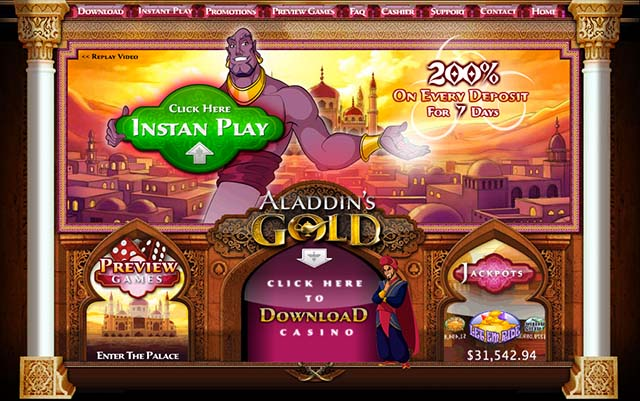 aladdinsgold casino bonus codes