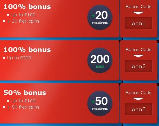 free spin casino bonus codes