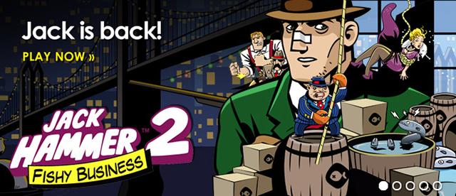 Jack Hammer 2 slot | 20 Free Spins on Sign Up