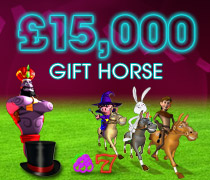 £15k royal ascot weekend promotion at William Hill Casino VEGAS